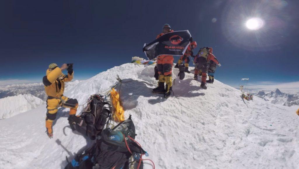 マムート エベレスト登頂