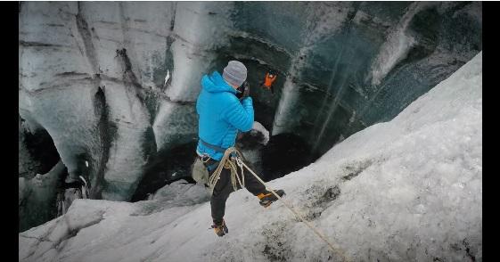 クライミング アイス:ジ アイスランド トライフェクタ