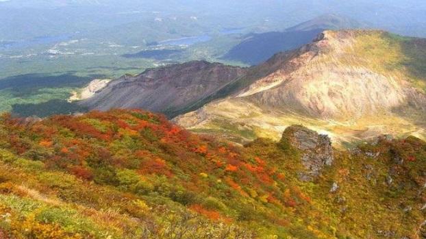 磐梯山 紅葉