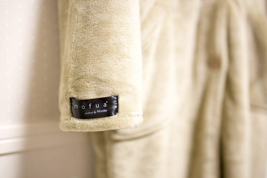 モフア 着る毛布