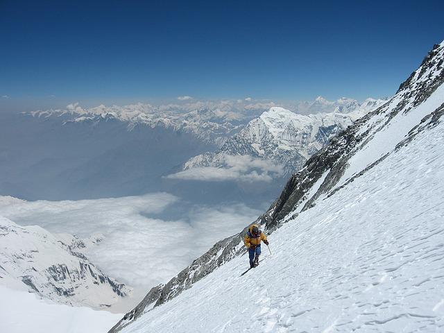 snow 登山